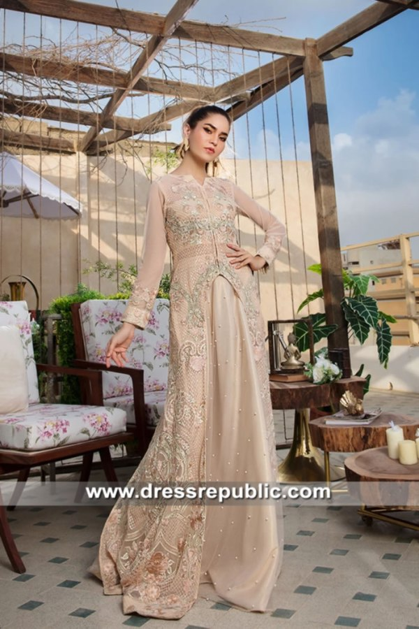 DR15635 Stylish Designer Long Gowns for Pakistani and Indian Girls in USA