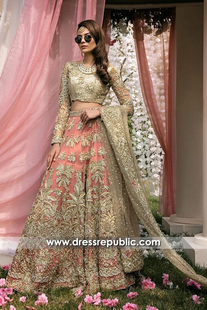 DR15707 Shop Online Pakistani Designer Lehenga Choli Sydney, Australia