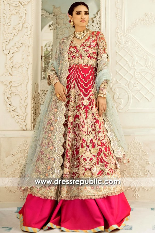 DR15713 Pakistani Bridal Lehenga 2020 London, Manchester, Birmingham, UK