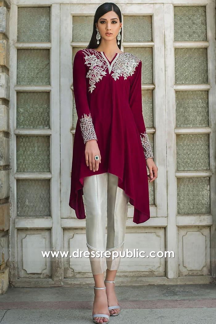 DR15738 Pakistani Designer Party Dresses 2020 Jackson Heights, Hicksville, NY