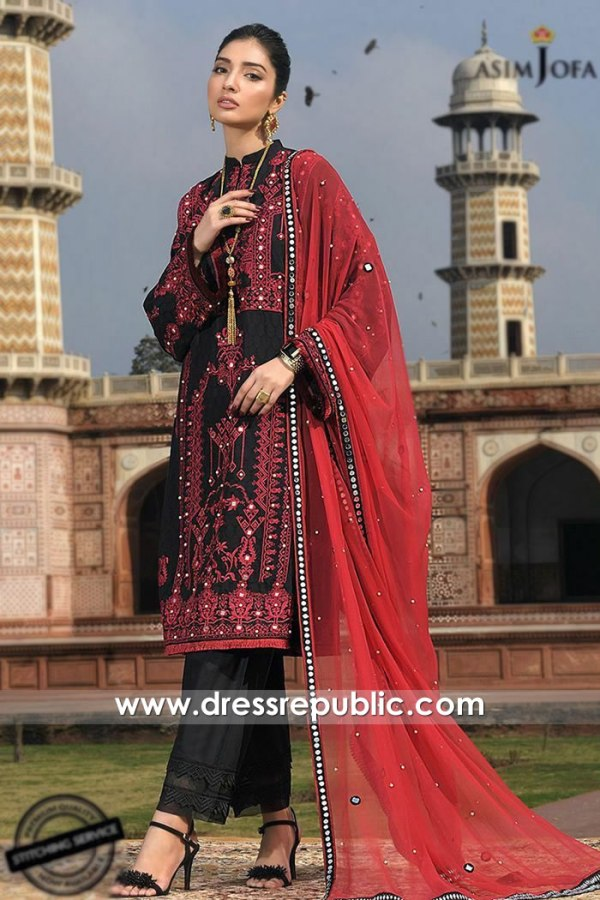 DRP1102 Asim Jofa Luxury Lawn 2020 New York, New Jersey, Texas, Florida
