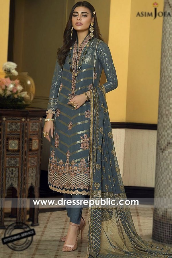 DRP1103 Asim Jofa Luxury Lawn 2020 California, Illinois, Ohio, Washington, USA