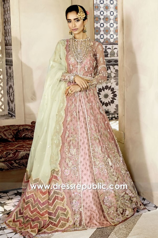 DR15771 Latest Pakistani Engagement Bridal Dress 2020 Collection Buy Online