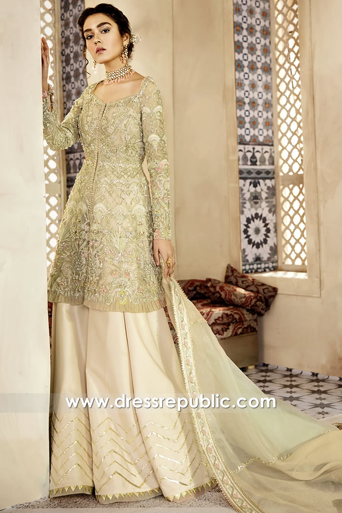 DR15773 Latest Pakistani Engagement Dress Buy Online in England, Scotland, UK