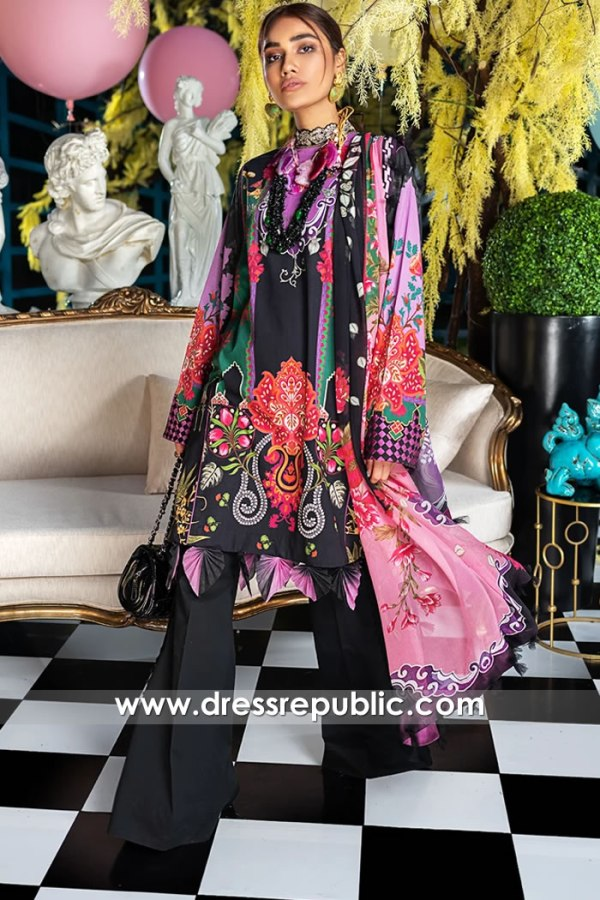 DRP1179 Pakistani Lawn Suits 2020 by Zaha Buy in London, Manchester, Birmingham