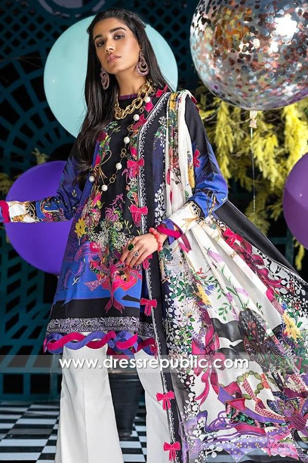 DRP1189 Zaha Lawn With Stitched Price Karachi, Lahore, Islamabad, Pakistan