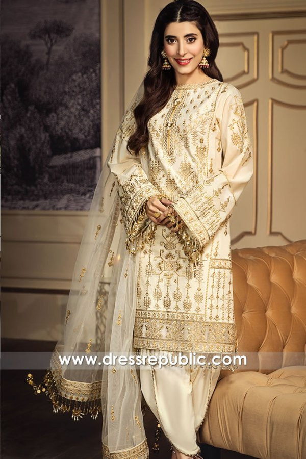 DRP1253 Pakistani Designer Lawn Suits Stitched Prices in England & Scotland UK