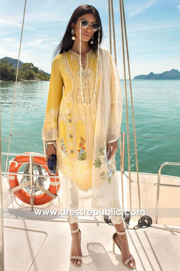 DRP1284 Sana Safinaz Luxury Lawn 2020 Sweden, Denmark, Norway, Netherlands