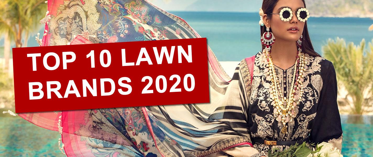 Top 10 Pakistani Lawn Brands in 2020 Buy Online