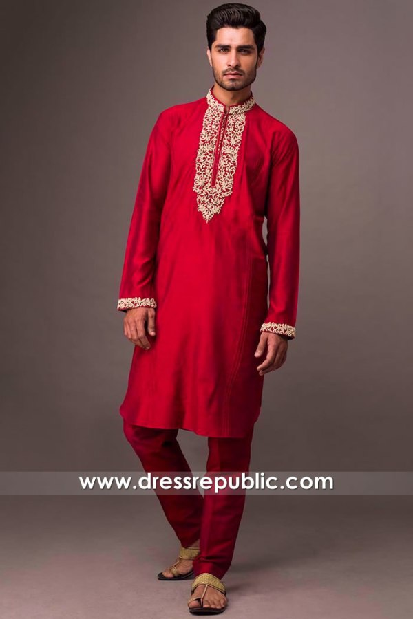 DRM5404 Deepak Perwani Formal Kurtas Online Shop London, Manchester, UK