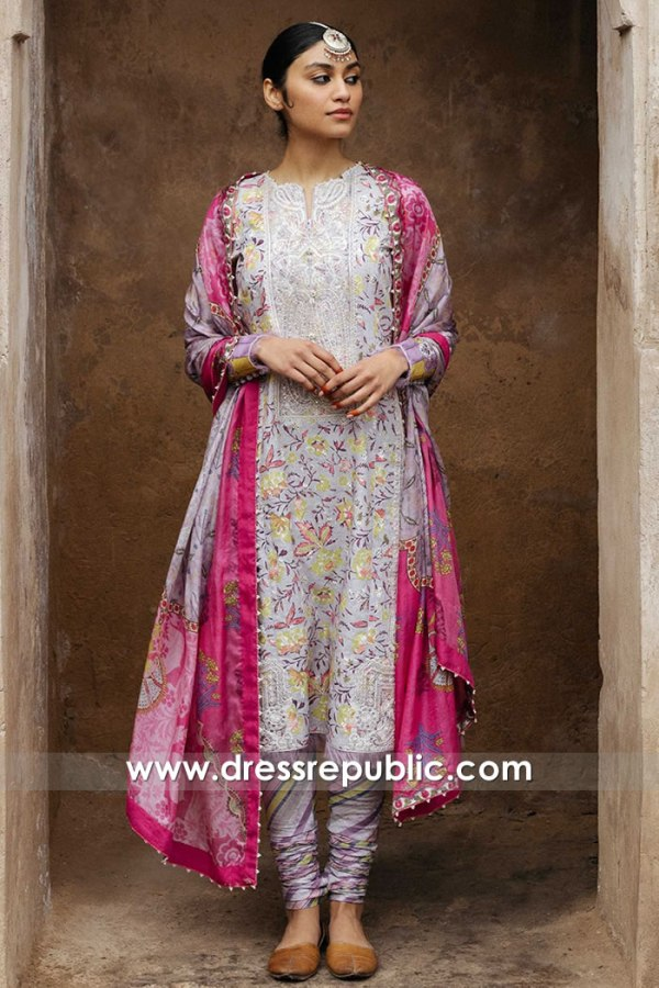 DRP1355 Zara Shahjahan Lawn 2020 Online Houston, Dallas, San Antonio, Texas