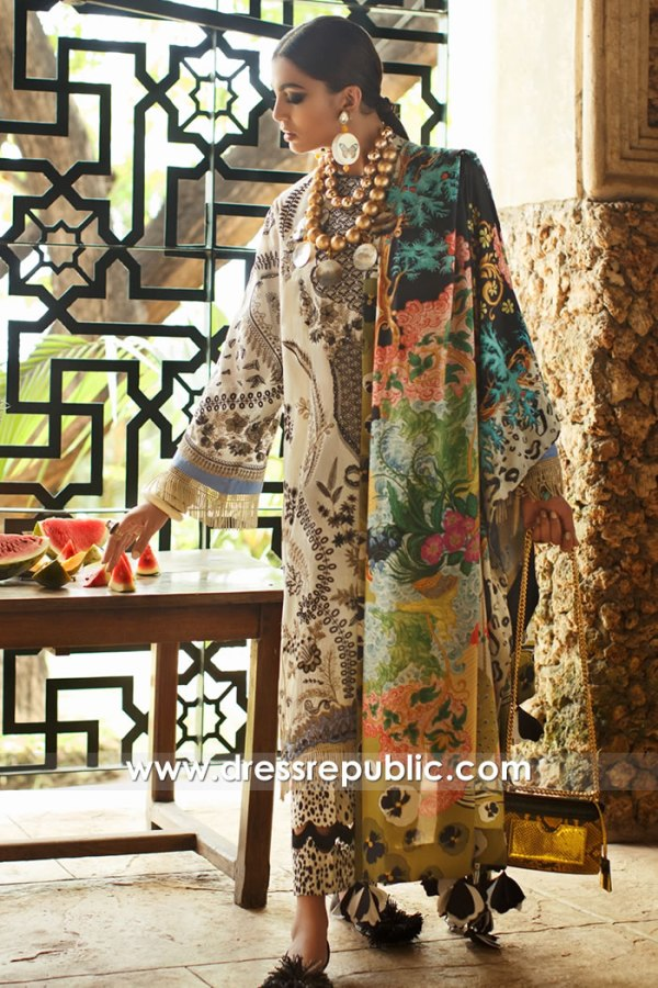 DRP1465 Pakistani Lawn Shops in New York, Chicago, Houston, Los Angeles, Miami