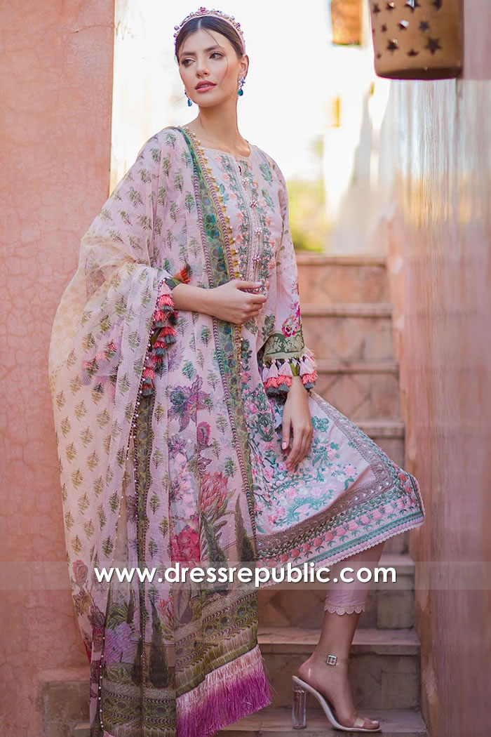 DRP1638 Sobia Nazir Luxury Lawn 2020 New York, New Jersey, Texas, Florida, USA