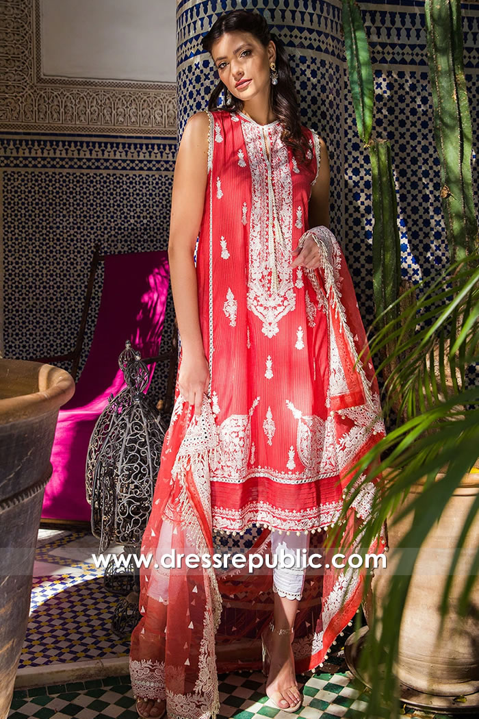 DRP1653 Sobia Nazir Luxury Lawn 2020 Singapore, Malaysia, Thailand, Hong Kong