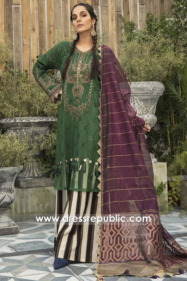 DRP1675 Maria B Lawn Eid Collection 2020 Saudi Arabia, UAE, Kuwait, Qatar