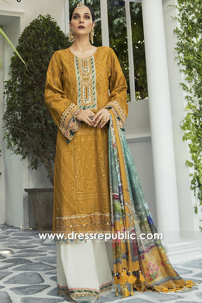 DRP1677 Maria B Lawn Eid Collection 2020 Where to buy in USA Online