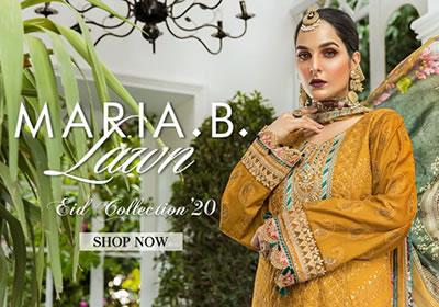 Maria B Eid Lawn 2020