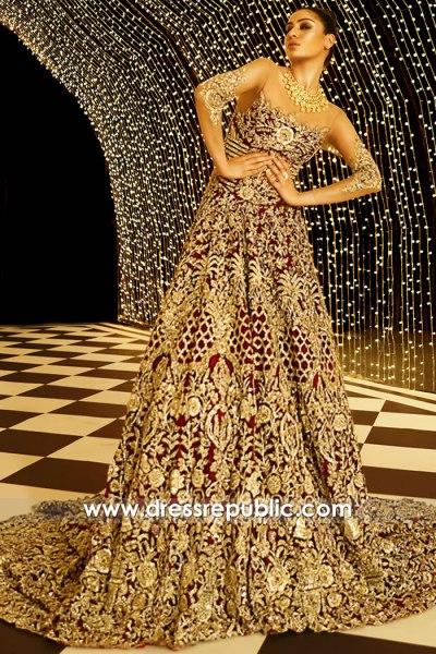 DR15912 Pakistani Bridal Lehenga AW20 Sydney, Perth, Melbourne, Australia