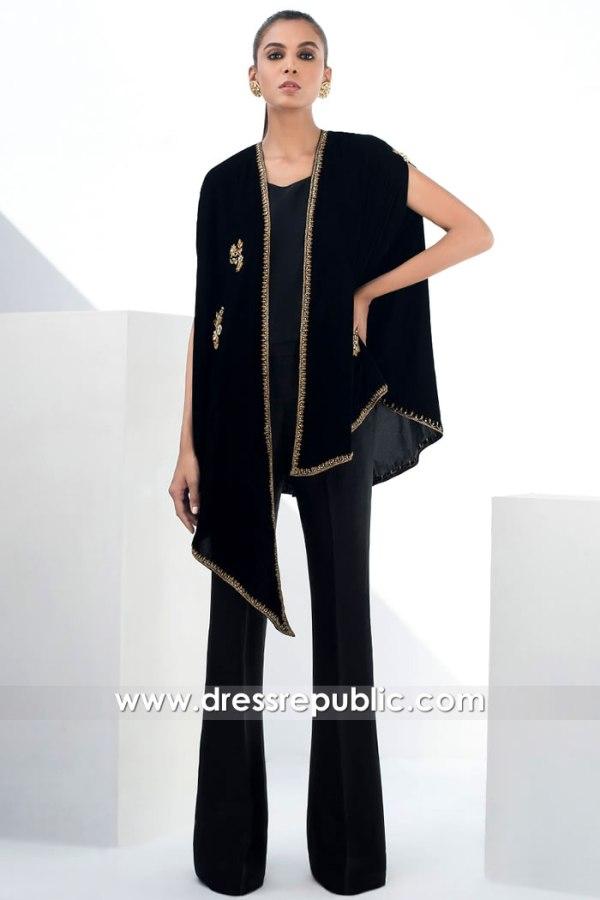 DR15867 Pakistani Designer Velvet Dresses 2020 Buy in USA, Canada, UK, Europe