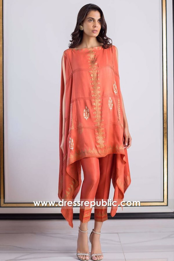 DR15870 Pakistani Designer Casual Dresses 2020 Buy in Los Angeles, California