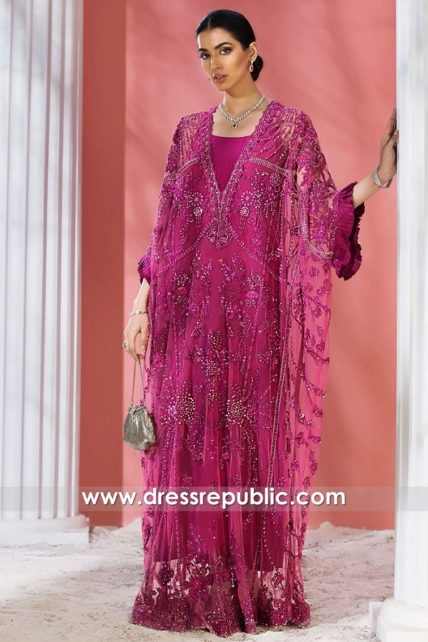 DR15872 Embellished Designer Jalabiya 2021 Collection Saudi Arabia, UAE, Qatar