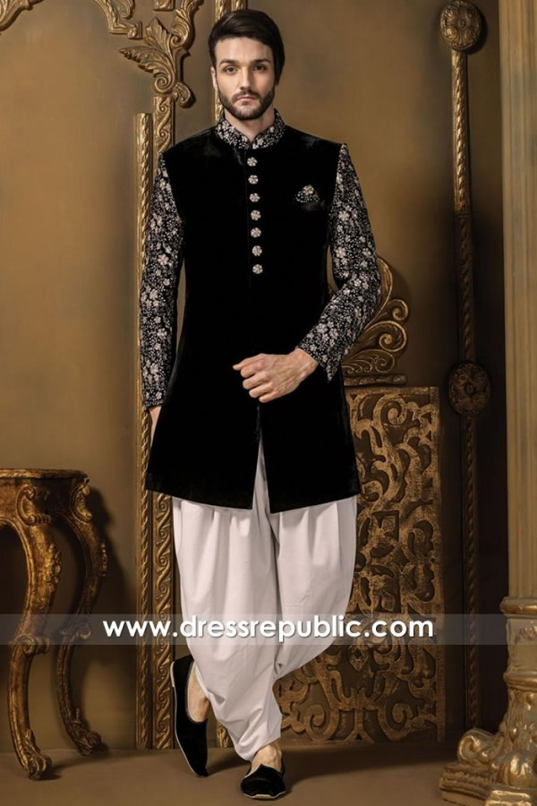DRM5502 Groom Sherwani 2020 Collection Buy in San Jose, San Diego, Fresno