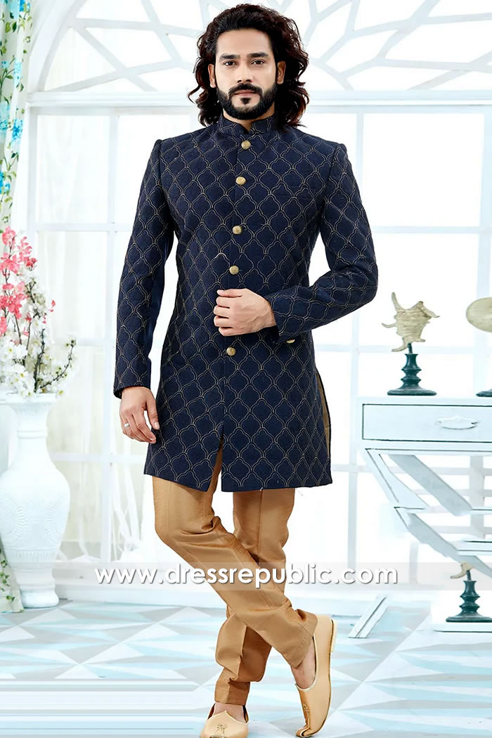 DRM5516 Deepak Perwani Sherwani Collection 2020 Buy Online in UK