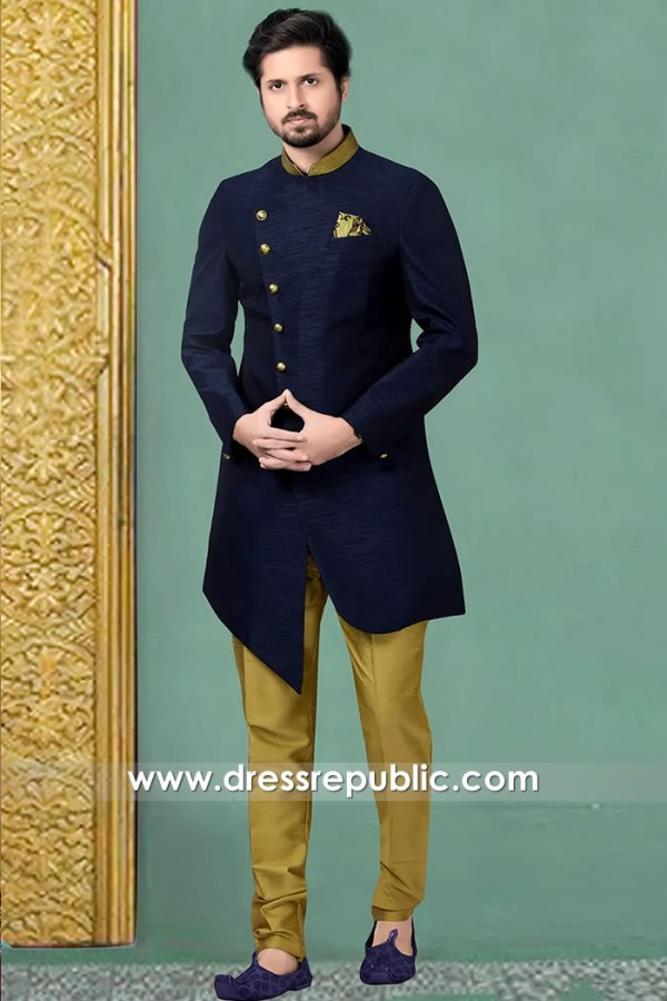 DRM5521 Indian Designer Sherwanis 2020 Buy in Calgary, Vancouver, Edmonton