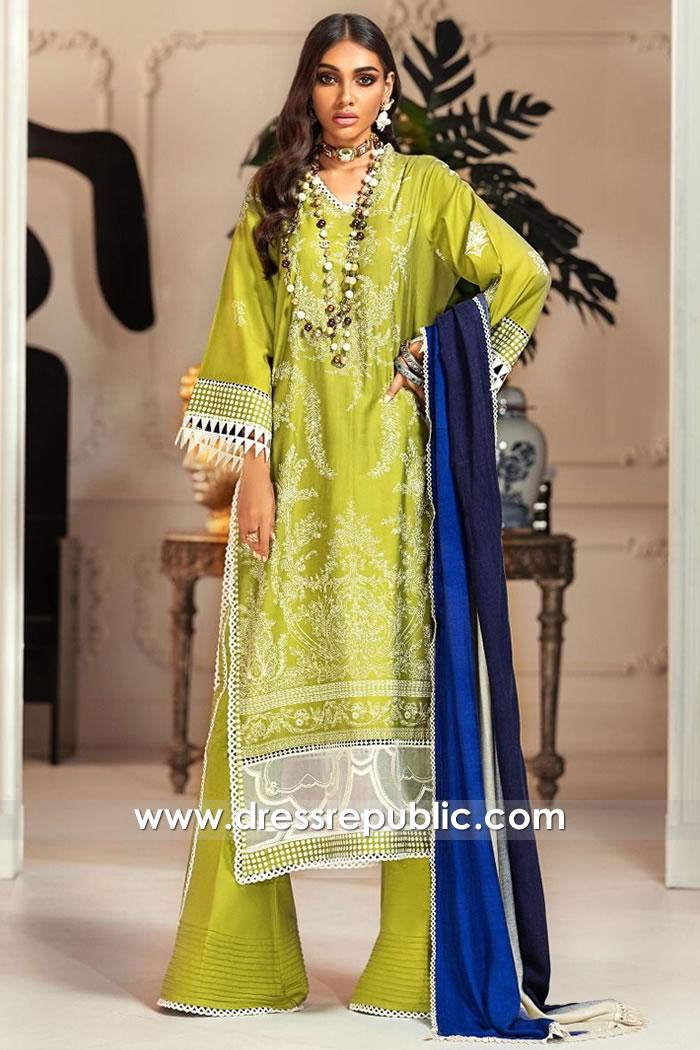 DRP1851 Sana Safinaz Muzlin Winter 20 Buy Online in New York, New Jersey, USA