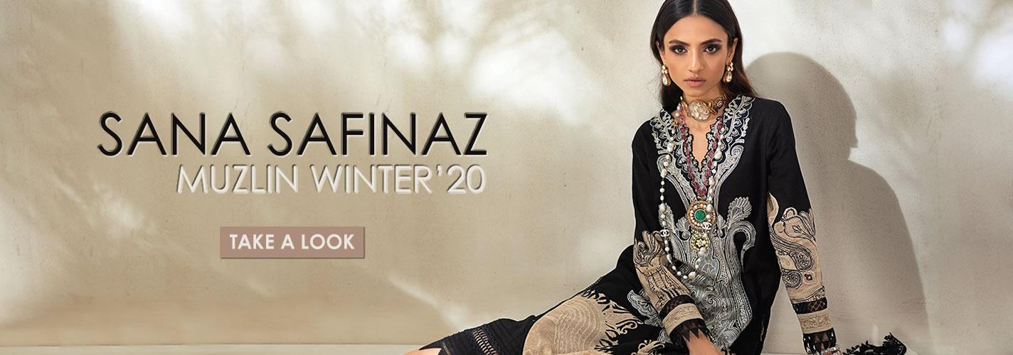 Sana Safinaz Muzlin Winter'20 Stitched Price