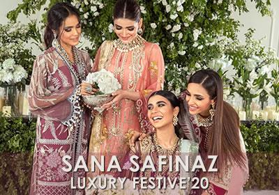 Sana Safinaz Luxury Festive'20