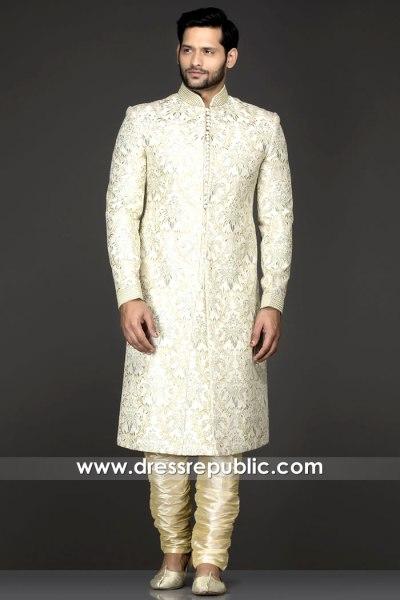 DRM5546 Nomi Ansari Designer Sherwani 2020 Buy in New York, New Jersey, USA