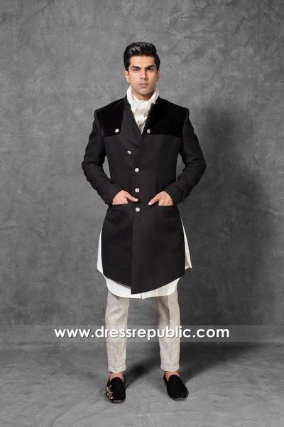 DRM5561 Wedding Sherwani Buy Online in North Carolina, Florida, New Jersey, USA