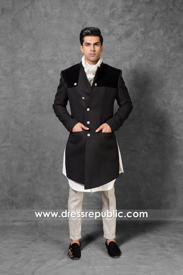 DRM5561 Wedding Sherwani Buy Online in North Carolina, Florida, New Jersey, USA