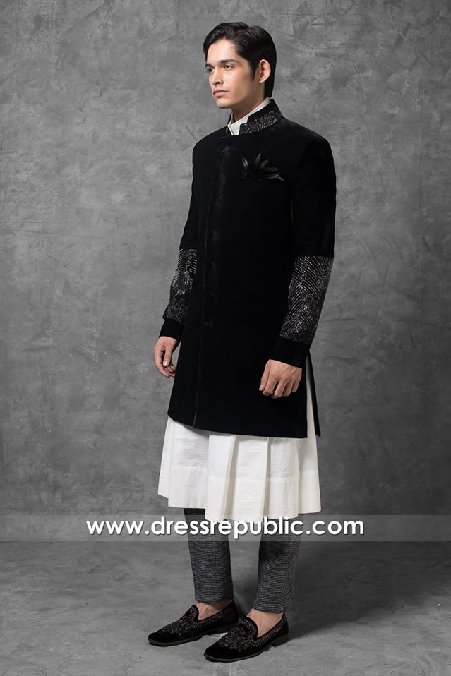 DRM5563 Men's Sherwani 2020 - 2021 Collection South Africa, Malawi, Morocco
