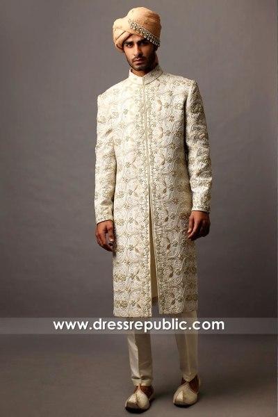 DRM5569 Traditional Sherwani with Turban and Kurta Pakistani Designer 2021