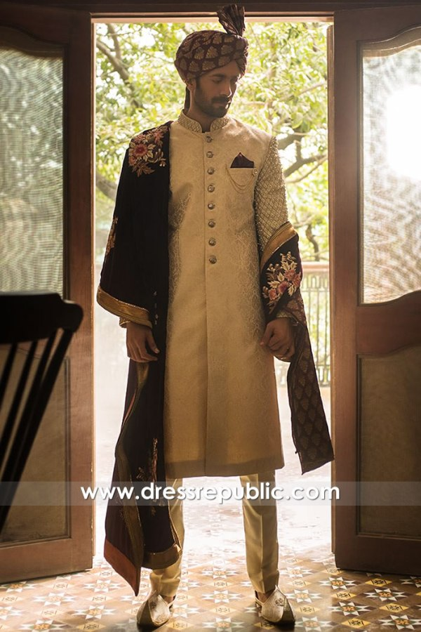 DRM5571 Deepak Perwani Sherwani USA 2020 Buy in New York, New Jersey, Texas