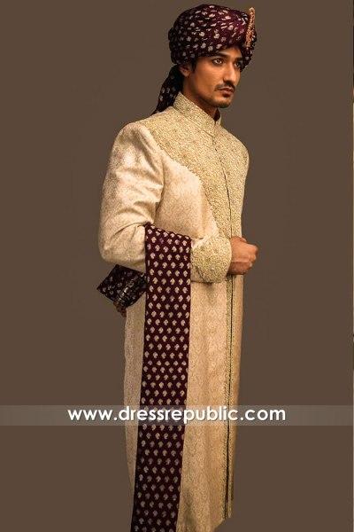 DRM5576 Pakistani Groom Sherwani Sydney, Perth, Melbourne, Adelaide, Australia
