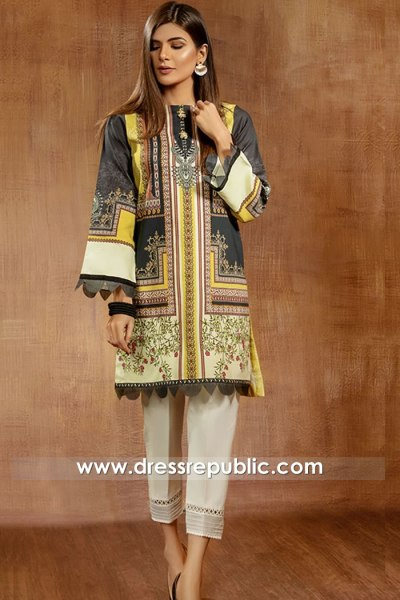 DRP2080 Anaya VIVA Lawn Prints 2021 With Stitching Buy in USA, Canada, UK