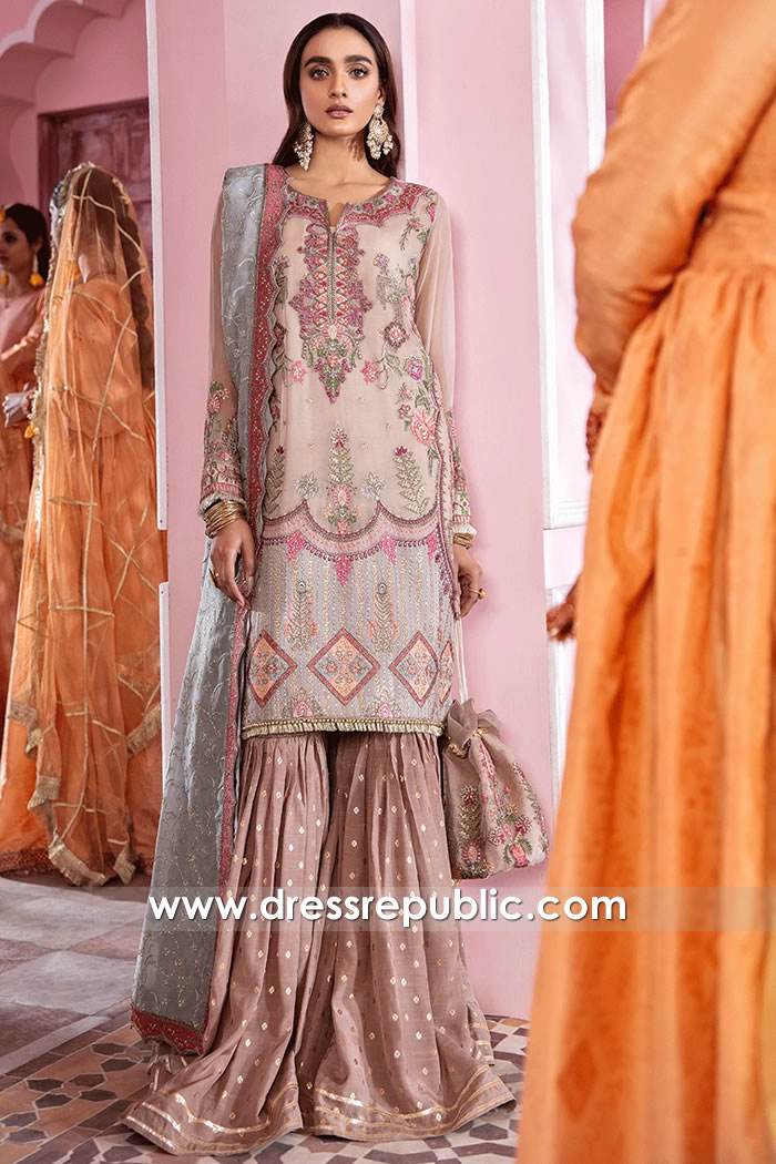 DRP2106 Pakistani Lawn and Chiffon Suits New York, New Jersey, Texas, Florida