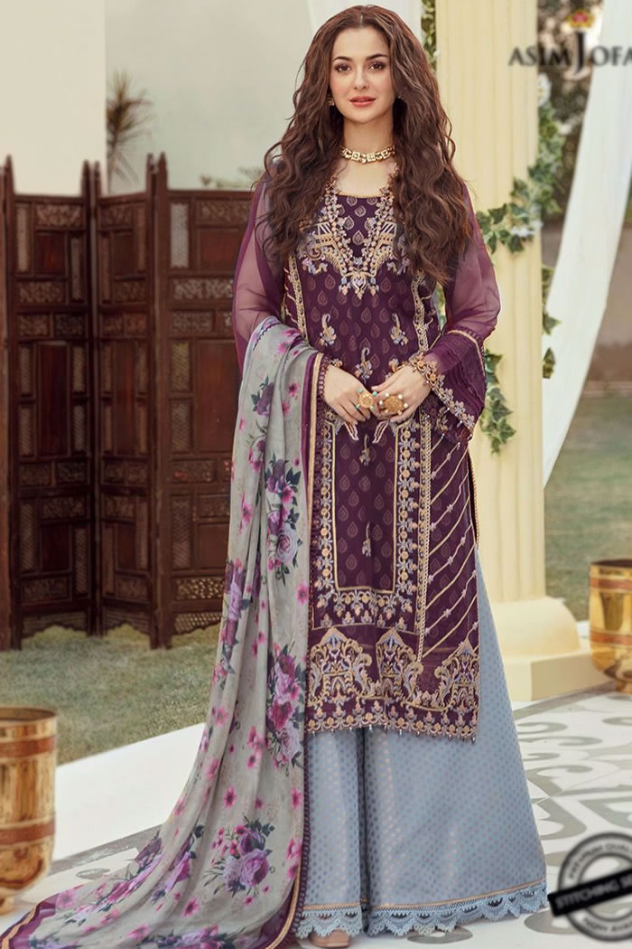 DRP2170 Asim Jofa Luxury Lawn 2021 Collection For Summers With Stitching Price