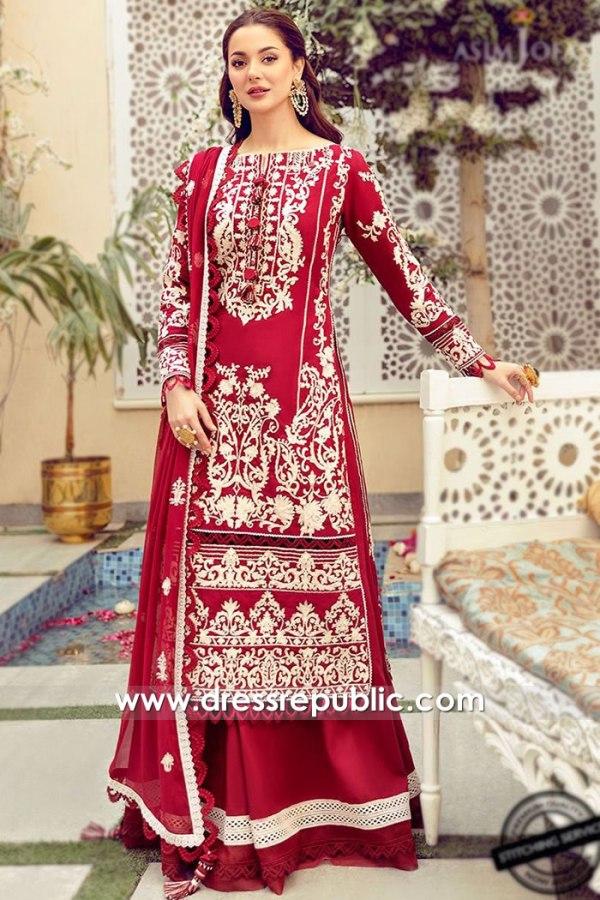 DRP2187 Asim Jofa Luxury Lawn 21 South Africa, Malawi, Kenya, Nigeria, Morocco