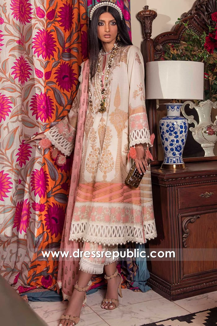 DRP2222 Sana Safinaz Lawn Wholesale Price Buy in UK Stitched and Full Sets
