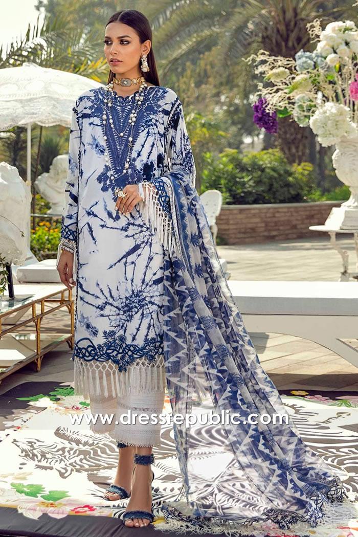 DRP2229 Sana Safinaz Muzlin Spring 2021 Canada | Custom Made Sizes Available