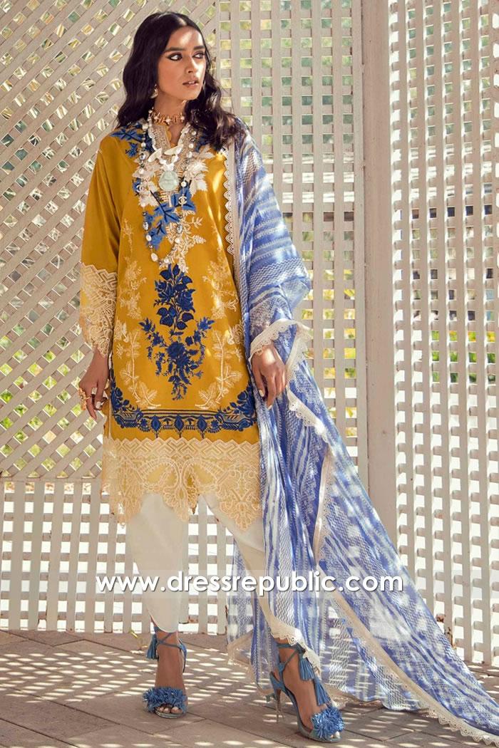 DRP2231 Pakistani Lawn Suits Brands | Pakistan Lawn Suits Online Shopping USA