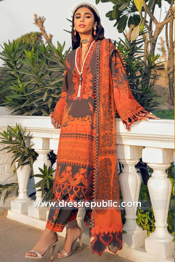 DRP2240 Pakistani Lawn Suits Online Shopping in Europe | Shalwar Kameez Europe