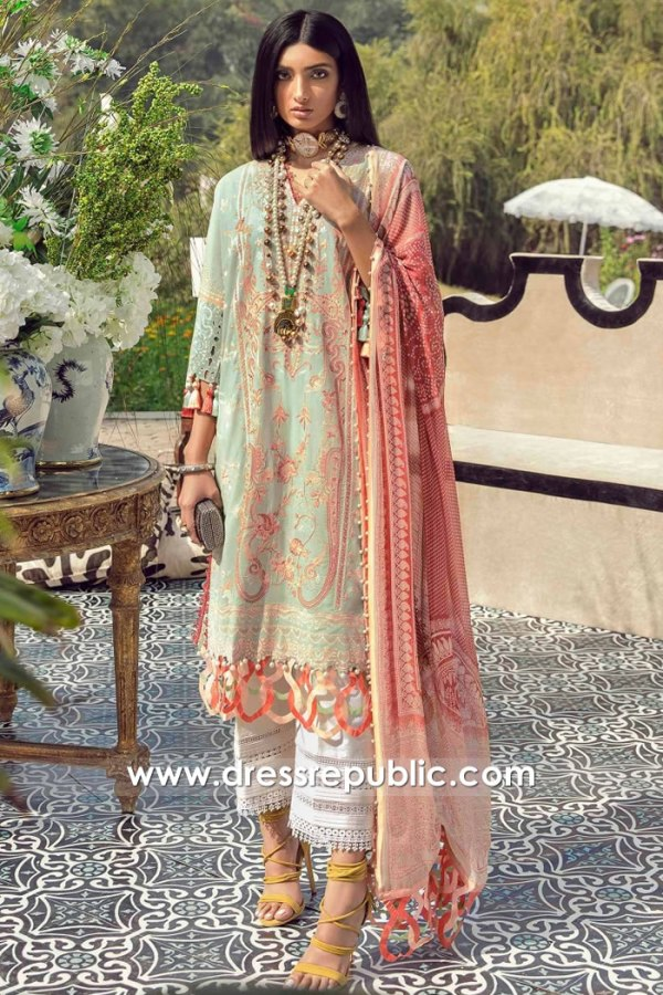 DRP2241 Latest Pakistani Lawn Fashion For Summer in 2021 Buy in USA
