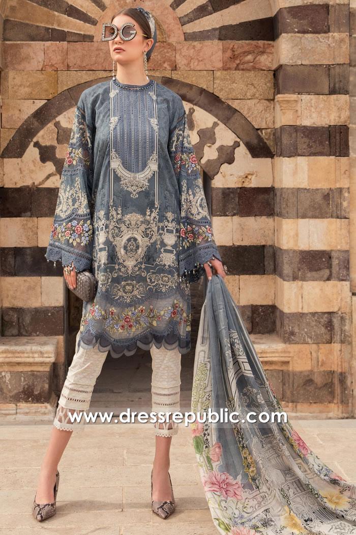 DRP2317 Maria B Lawn 2021 Online Shopping in London, Manchester, Birmingham