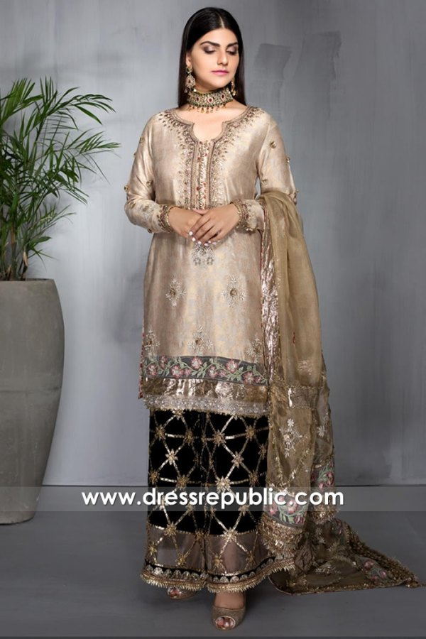 DR16026 Designer Shalwar Kameez with Gota Work 2021 Collection Buy Online