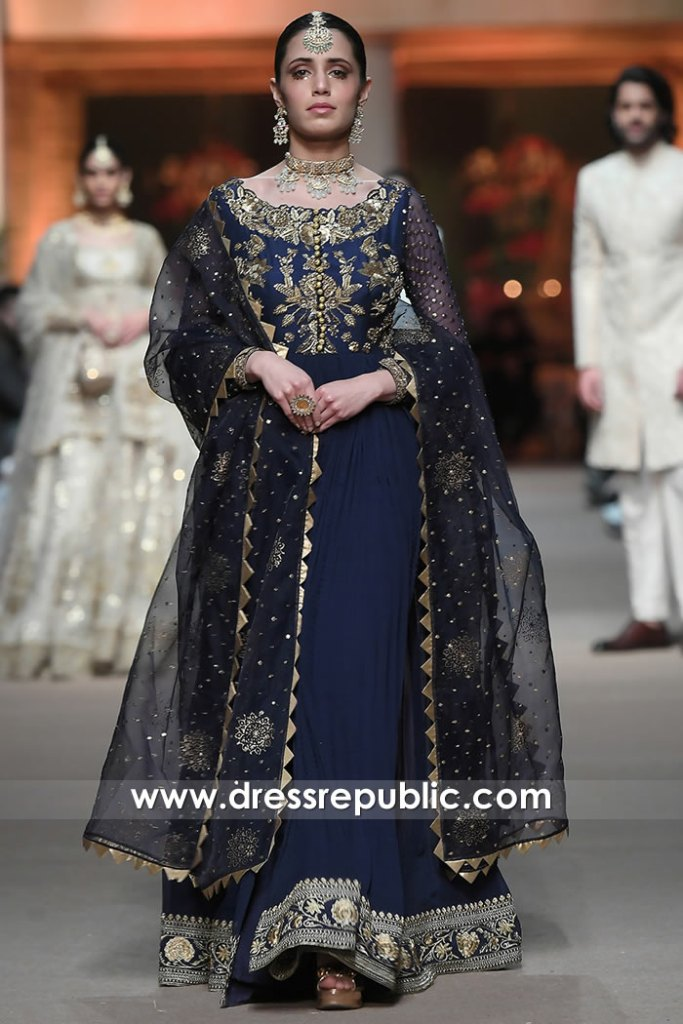 DR16052 Latest Pakistani Fashion Occasion Wear Dresses Buy Online in UK